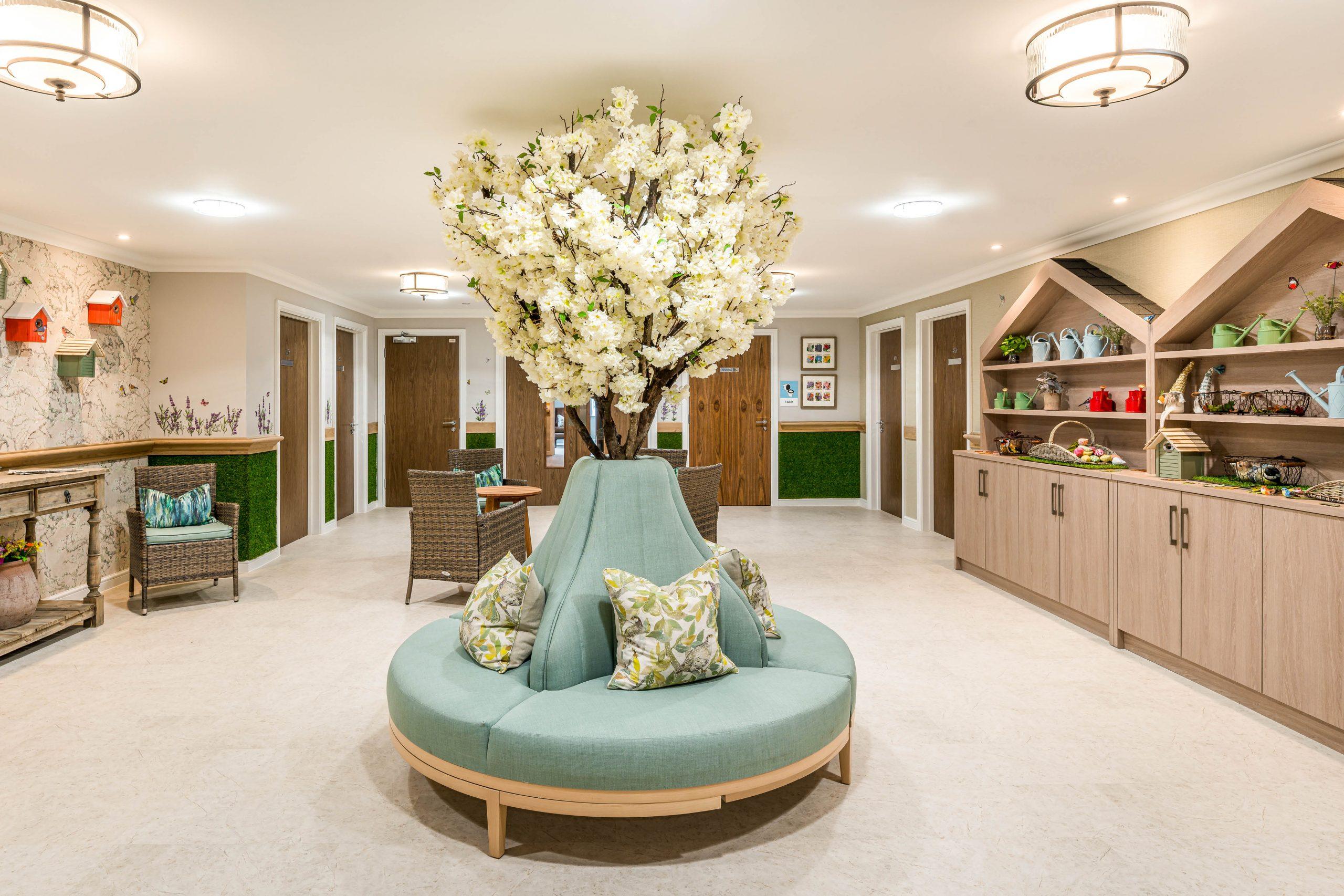 Boutique - Newmarket - indoor dementia garden