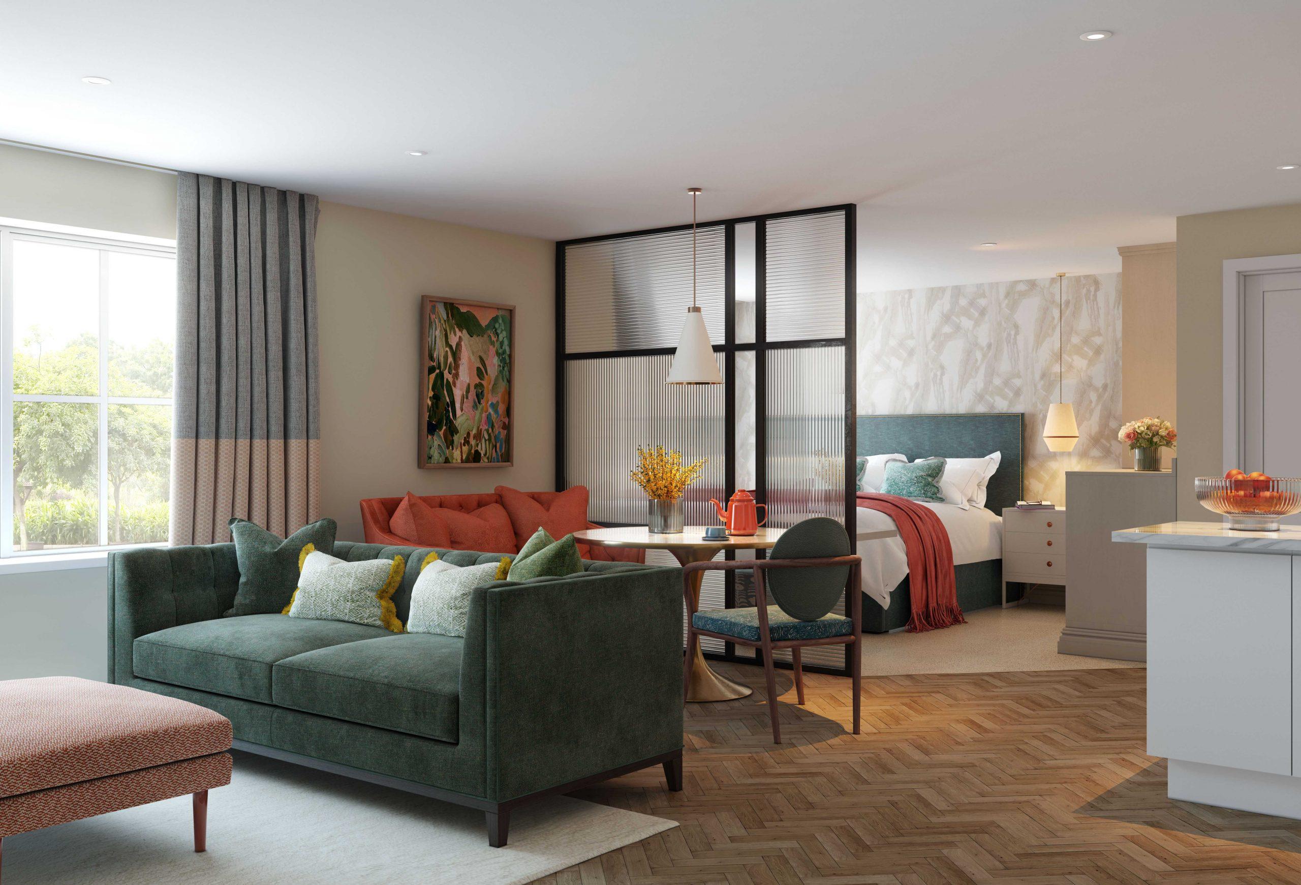 Principle Care Homes - Fleet - Studio Suite