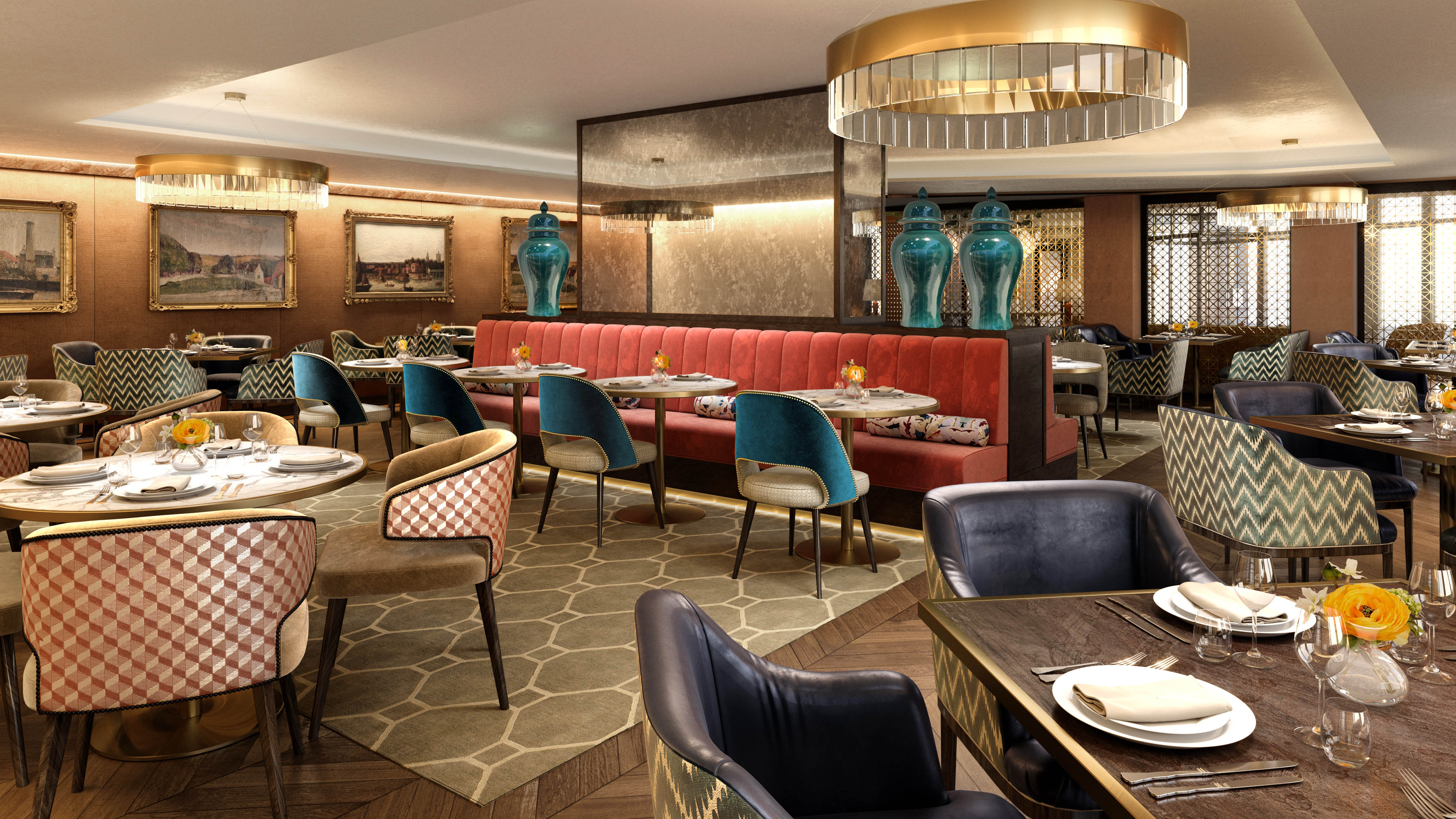 Nightingale Interiors amended Restaurant 01.05.19